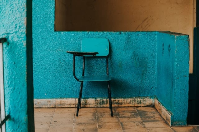 Web面接で使う椅子