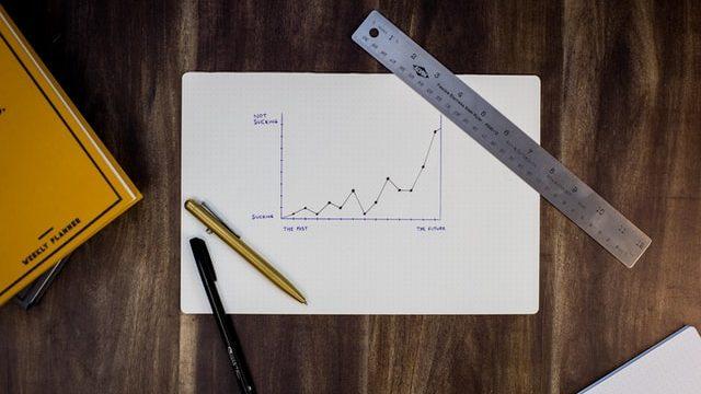 求人数の推移を示すグラフ