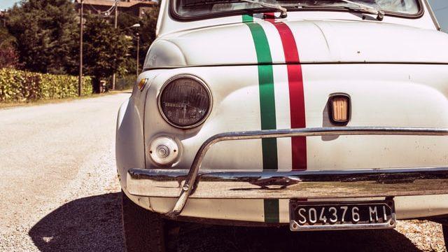 イタリアでの通勤に使う自動車