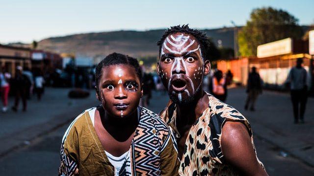 南アフリカで働く人