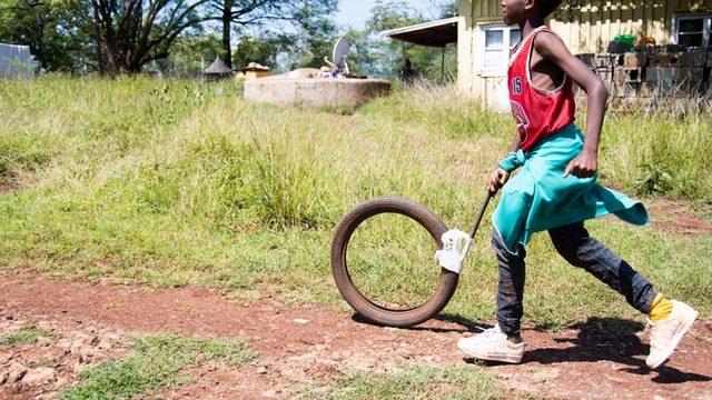 エチオピアで働くチャンスを得た人