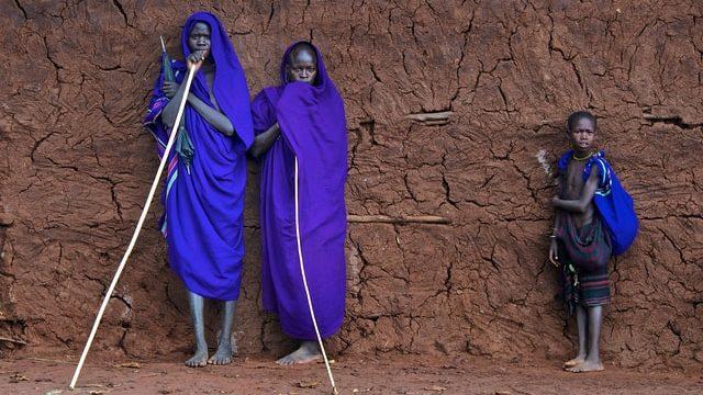 エチオピアで働く人々