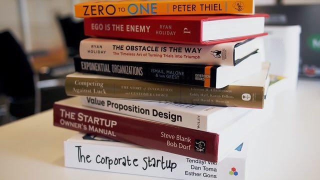 ベンチャー企業について書かれた本